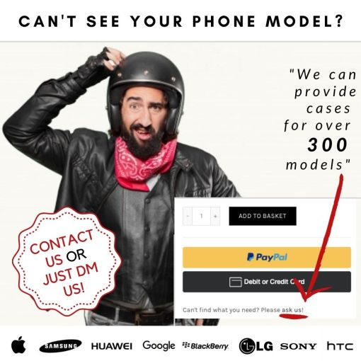 Cant See Your Phone Model?
