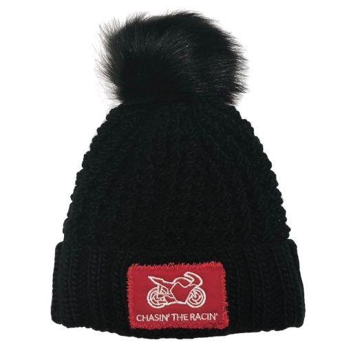 Chasin the Racin Bobble Hat