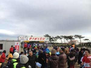 初のフルマラソン、館山若潮マラソン無事完走しました! 「デイリーたちばな」 2012年1月29日版
