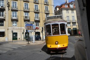 リスボン市電28番で市内を巡る [2012年夏 ヨーロッパ旅行記 その41]