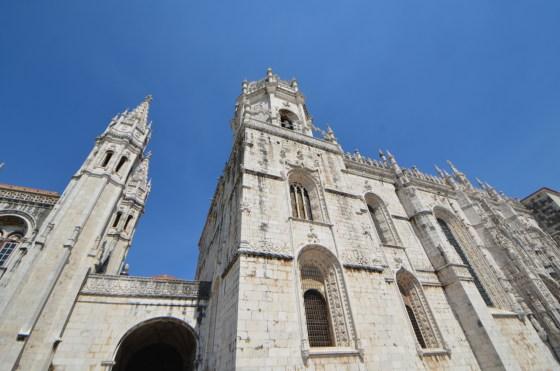 ジェロニモス修道院 〜 ポルトガル・リスボン栄光の時代を偲ぶ、美しすぎる装飾  [2012年夏 ヨーロッパ旅行記 その44]