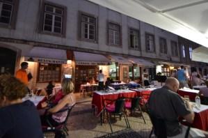 リスボン最後の夜は名称不明レストランへ   [2012年夏 ヨーロッパ旅行記 その47]