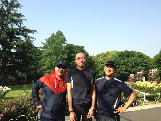代々木公園トリオラン!遠征13kmは気持ち良かった!!