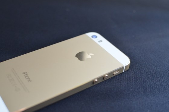 写真多数! iPhone 5s シャンパンゴールド 開封の儀  見よ!黄金色に煌めく優雅なフォルムを!!