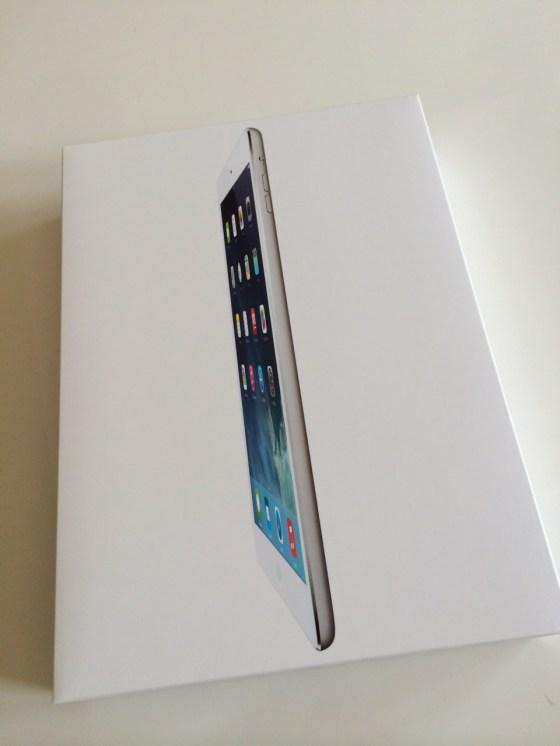 本日発売!iPad Air 128GB WiFiモデルをAppleストア銀座でゲット!!