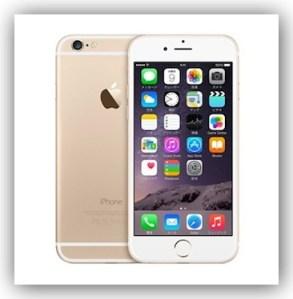 SIMフリー iPhone 6 ゴールド 128GBモデルを予約完了しました!9/19が楽しみだ!!