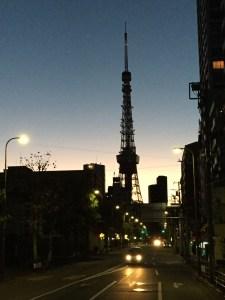 東京タワーが美しい!夜明けの10kmラン!  [東京マラソンまで70日・ランニング日誌]