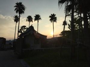 夜明けの博多埠頭は美しかった!快晴爽快7kmラン!  [2015.8.福岡旅行記 vol.3]