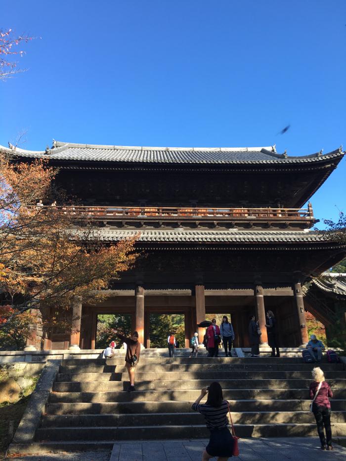 南禅寺 — 臨済宗大本山 京都五山より上 別格の位を持つ 日本最高位の禅寺は力強かった!!  [2015年晩秋旅行記 その34]