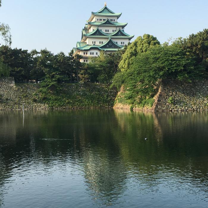 今日も快晴!充実の名古屋城周回 8km旅ラン!!   [2016年5月 名古屋・伊勢旅行記 5]