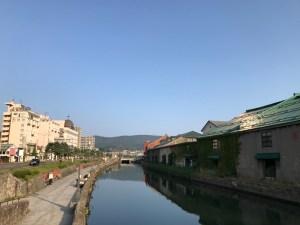 小樽の朝は美しかった!運河沿いを走った早朝3kmラン!! [2016年9月 北海道旅行記 その8]