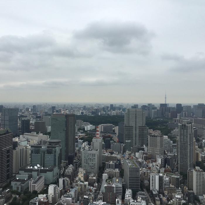 ザ・リッツ・カールトン東京で早朝ラン!桧町公園が気持ち良かった!そして入口で手渡されたものにビックリ!! [2016年7月リッツカールトン誕生日プロジェクト その7]