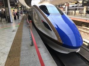 北陸新幹線で金沢まで移動中に仕事する場合の注意点 [2017年5月 金沢旅行記 その1]