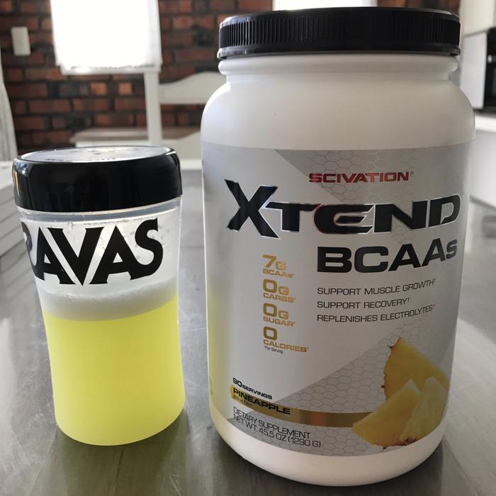 BCAAで筋肉の分解を防げ!! プロ推奨のアメリカ産BCAA エクステンド 1Kg (Scivation XTEND)を購入 [ボディメイク]