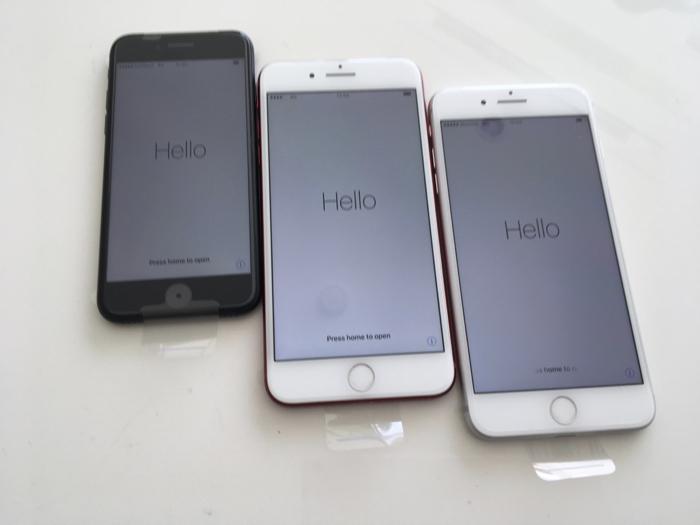 僕の3台のiPhoneがいっぺんに3台とも無償新品交換になったお話し [iPhone]