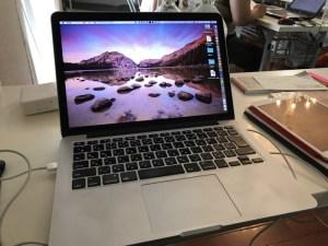 MacBook Proとの再会