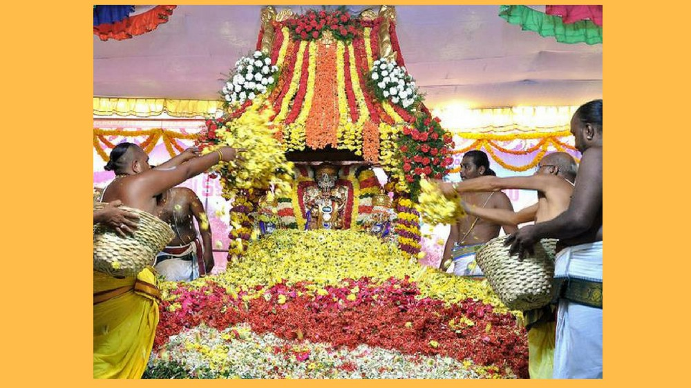 TTD Pushpa Yagam 2020 With 7Tonnes Flowers