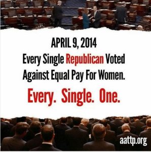 reps against equal pay