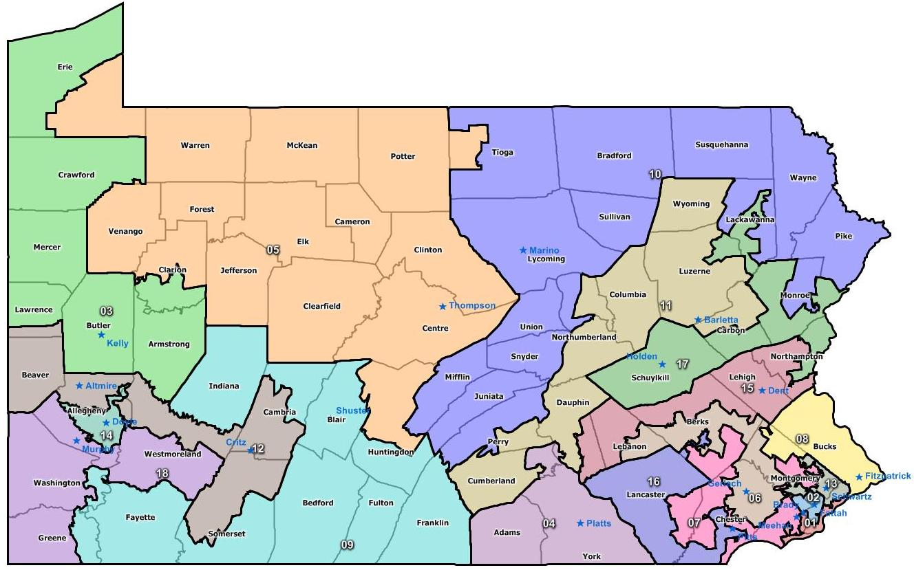 Draw House Plan Online 187 Bill To End Gerrymandering Introduced In Pennsylvania