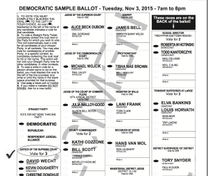 2015 Sample Ballot general