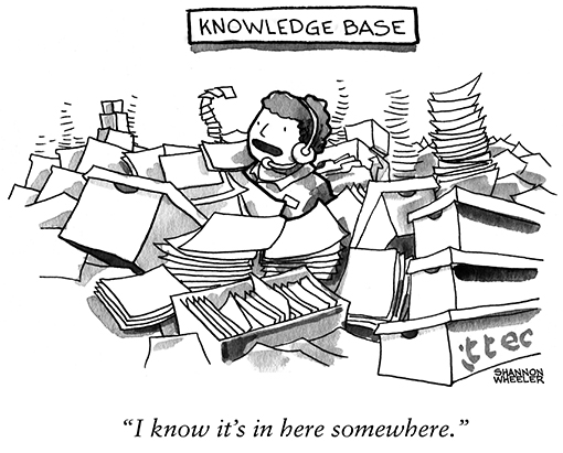 How to Convert a Crazy Knowledge Base into an Ordered