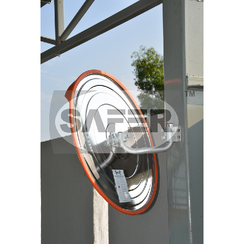 Outdoor Stainless Steel Convex Mirror  Stainless Steel