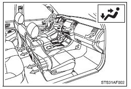 Toyota Tacoma Owners Manual: Air conditioning system