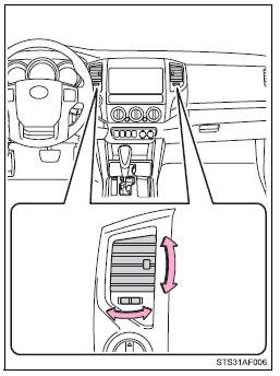 Toyota Tacoma Owners Manual: Adjusting the position of the