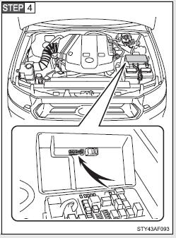 Toyota Tacoma Owners Manual: Checking and replacing fuses