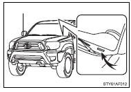 Toyota Tacoma Owners Manual: Maintenance data (fuel, oil