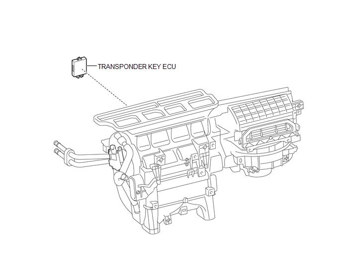 Toyota Tacoma 2015-2018 Service Manual: Transponder Key