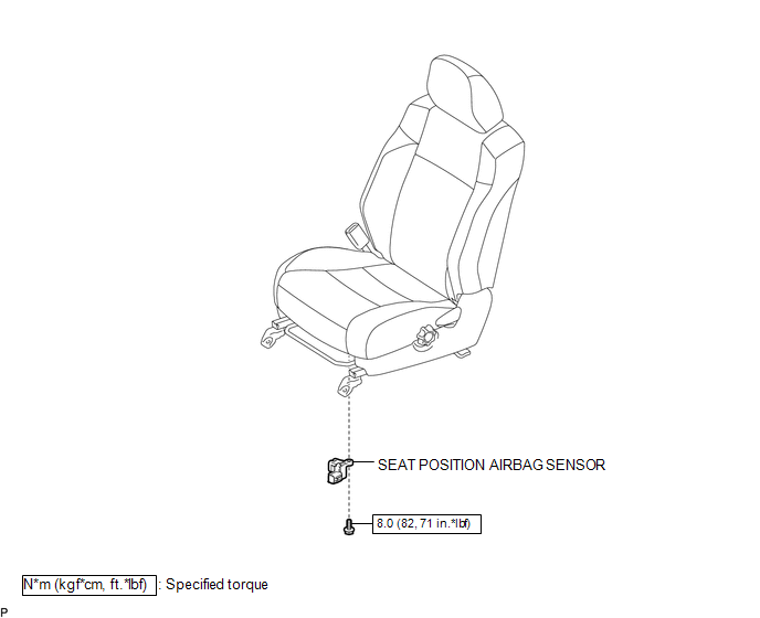 Toyota Tacoma 2015-2018 Service Manual: Seat Position