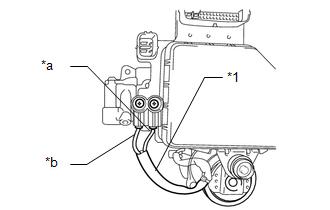 Toyota Tacoma 2015-2018 Service Manual: Accumulator Low