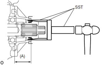 Toyota Tacoma 2015-2018 Service Manual: Transfer Case Rear