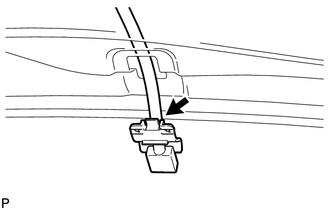 Toyota Tacoma 2015-2018 Service Manual: Washer Nozzle