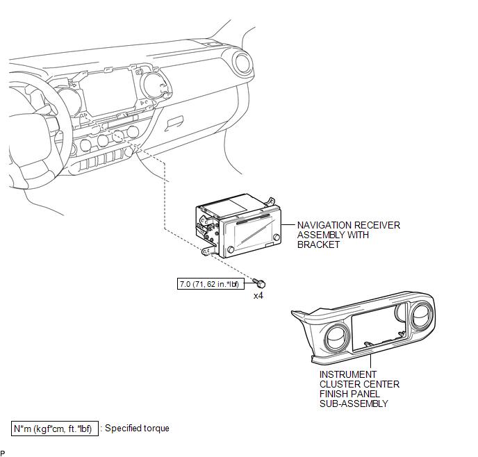 Toyota Tacoma 2015-2018 Service Manual: Navigation