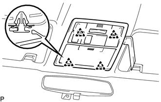Toyota Tacoma 2015-2018 Service Manual: Sliding Roof