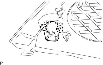 Toyota Tacoma 2015-2018 Service Manual: Automatic Light