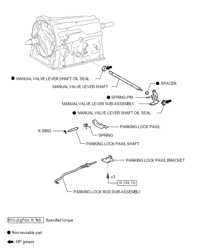 Toyota Tacoma 2015-2018 Service Manual: Automatic