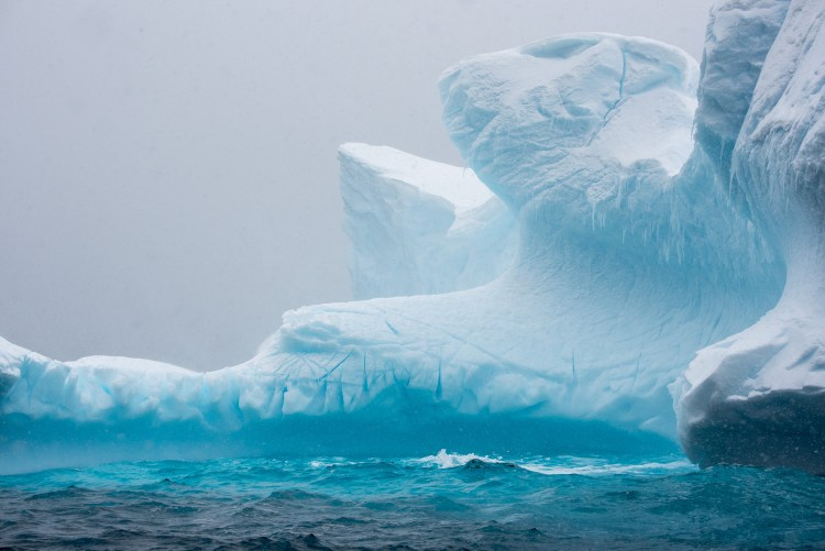An Icberg in Spirt, Antarctica and the Blue you just can't forget
