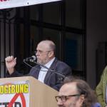 Kundegebung vom 18.04.2015 Engelplatz Miltenberg - Foto: SEW