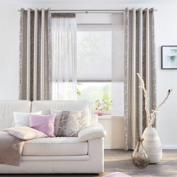 Schne Gardine fr Ihr Wohnzimmer  Gardinen  Vorhnge  Fenster  Produkte  TTLTTM