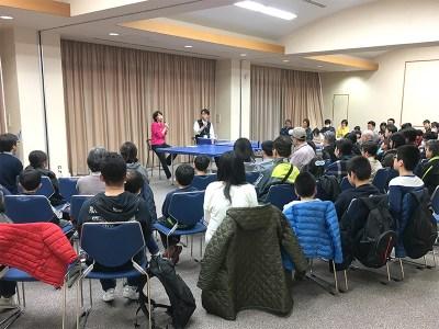 内山コーチのトークショー