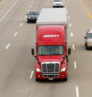 Averitt Express truck
