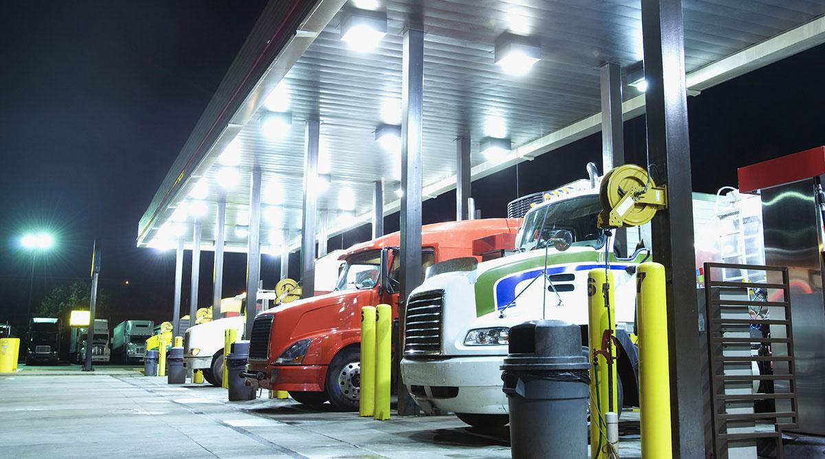 truck stops i 95 north carolina