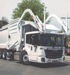 freightliner launches cabover refuse truck [ 1200 x 670 Pixel ]