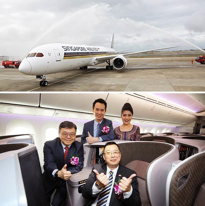 新航啟用787-10首飛臺灣 | 旅報