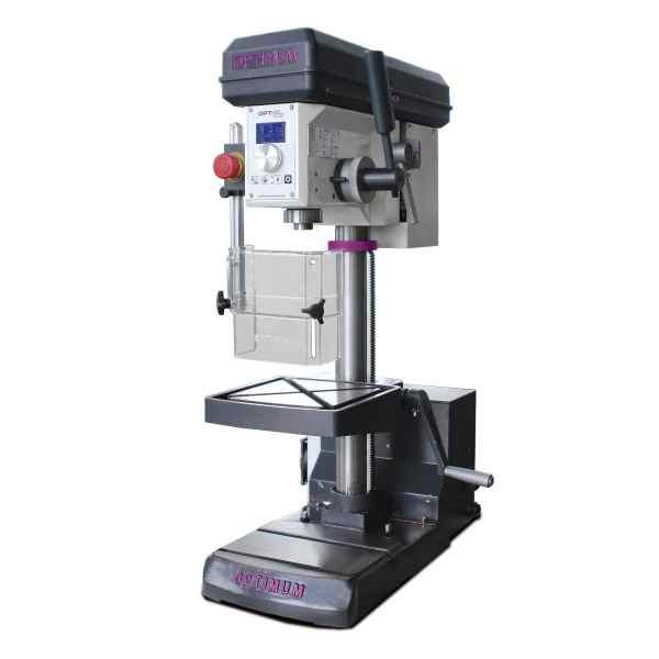Optimum Tischbohrmaschine mit Bohrmaschinenschraubstock OPTIdrill DH 18V Set