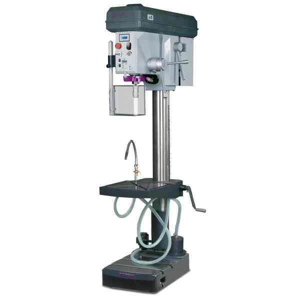 Optimum Säulenbohrmaschine mit Bohrmaschinenschraubstock OPTIdrill B 34HV Aktions-Set
