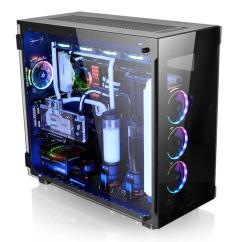 Computer Chairs For Gaming Desk Chair Humanscale Thermaltake View 91 Tempered Glass Rgb Edition Super Tower Chassis | Ttpremium